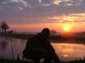 Закат на реке Битюг