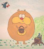 Винни Пух грибник